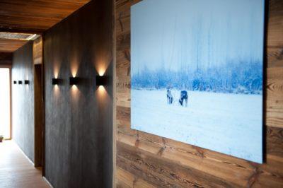 Chalet-D'Osc-montagne-Les-2-Alpes-JMV-Resort -tableau-neige-luminaires-bois