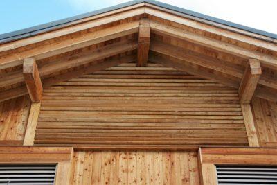 Chalet-montagne-Arte-Meribel-JMV-Resort -façade extérieur-bois