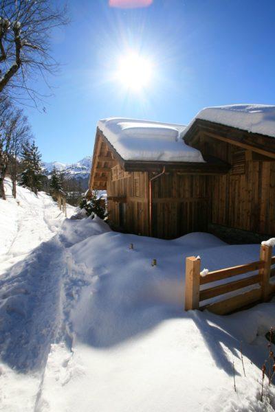 Chalet-A-montagne-Meribel-JMV-Resort-neige-façade extérieur bois