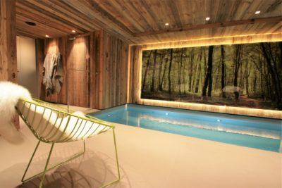 Chalet-A-montagne-Meribel-JMV-Resort-piscine-grand tableau-fauteuil