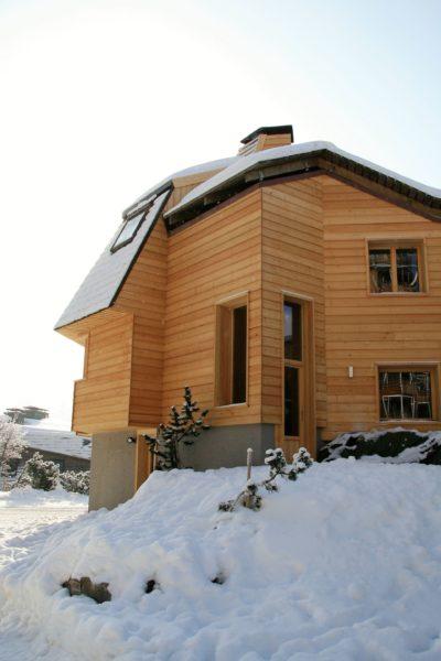 Chalet-montagne-Alaya-Avoriaz-JMV-Resort-façade extérieur-bois-neige