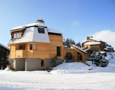 Chalet-montagne-Alaya-Avoriaz-JMV-Resort-vue d'extérieur-neige-
