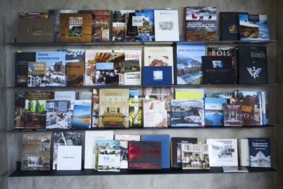 JMV Resort Agence Architecture de montagne haut de gamme bibliothèque