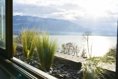 JMV Resort Agence Architecture Bourdeau vue lac du Bourget