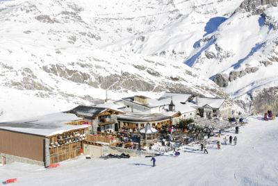 Folie Douce montagne ski restaurant