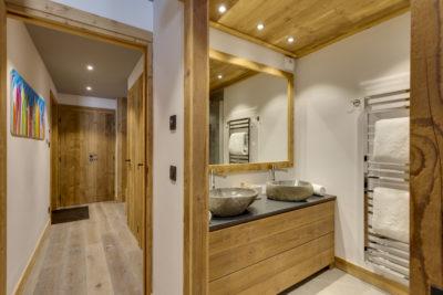 Résidence - La Forêt - Val d'Isère - salle de bain - JMV Resort