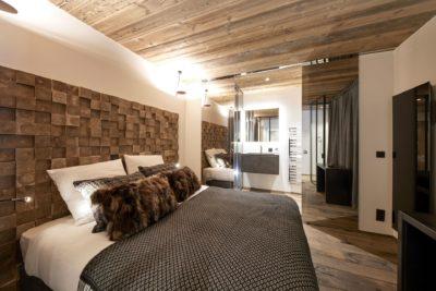 Appartement-Pierra-Menta-montagne-Val-D'Isere-JMV-Resort -chambre-lit