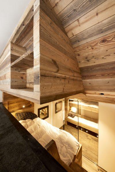 Appartement-Pierra-Menta-montagne-Val-D'Isere-JMV-Resort-mezzanine-chambre