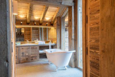 Chalet-Queen-Mijane-montagne-Meribel-JMV-Resort-salle de bain-bois