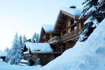 Chalet-SHL-montagne-Meribel-JMV-Resort-neige-extérieur-façade