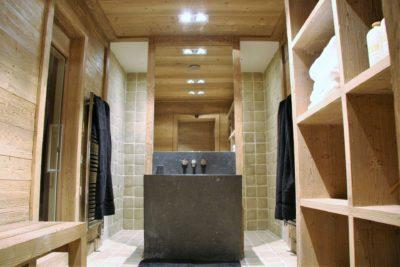 Chalet-Tiki-montagne-Meribel-JMV-Resort-salle de bain-spa