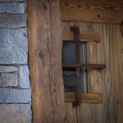 Chalet-SHL-montagne-Meribel-JMV-Resort-façade bois