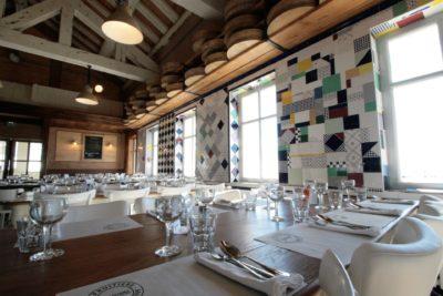 Folie-Douce-Alpe-D'Huez-JMV-Resort-architectes salle à manger