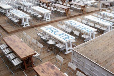 Folie-Douce-restaurant-Saint-Gervais-Haute-Savoie-JMV-Resort-architectes terrasse en bois