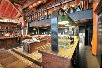 Folie-Douce-restaurant-Saint-Gervais-JMV-Resort-architectes cuisine