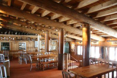 Folie-Douce-restaurant-Val-D'Isere-JMV-Resort-architectes salle à manger