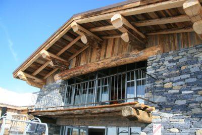 Folie-Douce-Val-D'Isere-JMV-Resort-architectes terrasse façade