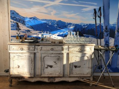 Folie-douce-restaurant-Val-Thorens-JMV-Resort-architectes salle a manger