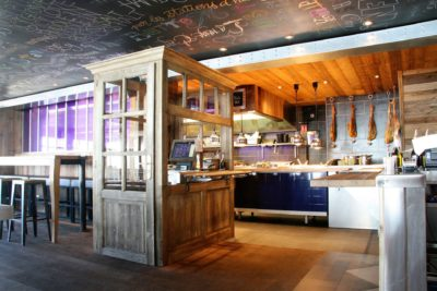 Folie-douce-restaurant-Val-Thorens-JMV-Resort-architectes cuisine