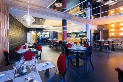 Hôtel-Taj-I-Mah-Les-Arcs-JMV-Resort-architectes salle à manger restaurant