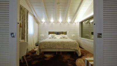 Hôtel-Tsanteleina-Val-D'Isere-JMV-Resort-architectes chambre blanc