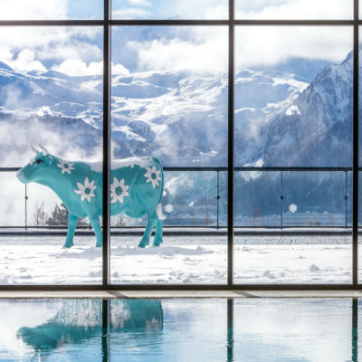 Club Med - La Rosière - Savoie - France - architecture d'intérieur - montagne - piscine - spa - luxe