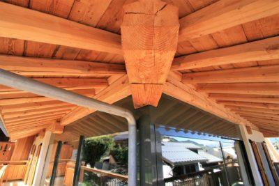 Maison-de-village-montagne-Courchevel-JMV-Resort-façade bois