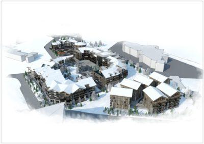 Projet urbanisme Alpe d'huez Isère (1)