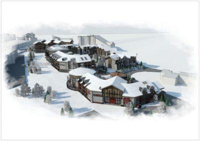 Projet urbanisme Alpe d'huez Isère (2)