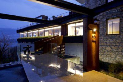 Showroom-JMV-Resort-Bourdeau-entrée-accueil-bourget du lac