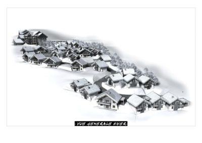 Projet d'urbanisme station La Toussuire Savoie 2