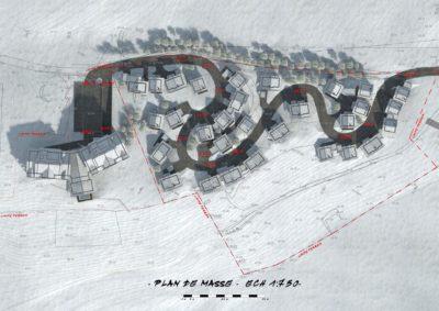 Projet d'urbanisme station La Toussuire Savoie 1