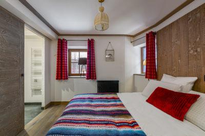 Chalet- Victoire Mijane - Méribel - chambre - lit - JMV Resort