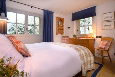 Chalet- Victoire Mijane - Méribel - intérieur - chambre - lit double - JMV Resort