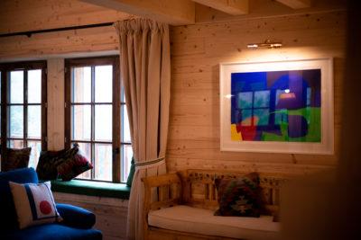 Chalet- Victoire Mijane - Méribel - intérieur - tableau - JMV Resort