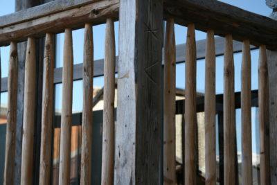 Chalet - La Grange - Méribel - façade pierre et bois - extérieur - balcon - JMV Resort