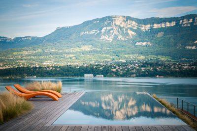 Maison Bourdeau - vue sur lac du bourget - montagnes - rooftop- piscine - JMV Resort