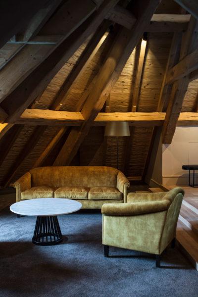 Hôtel l'Incomparable -Tresserve - montagne - Jmv resort - architecture - salon - intérieur