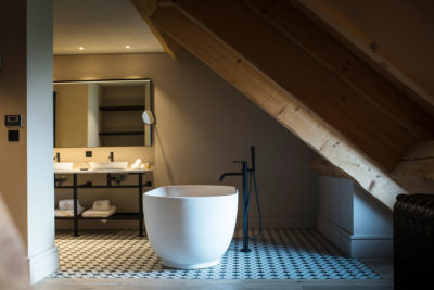 Hôtel l'Incomparable -Tresserve - montagne - Jmv resort - architecture - salle de bain - intérieur