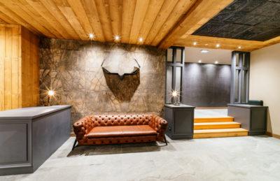 Résidence - ASPEN Les suites des 5 frères - Val d'Isère - montagne - architecture - jmv resort - hall d'entrée - reception