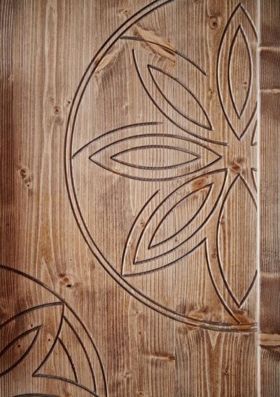 Club Med - La Rosière - Savoie - France - architecture d'intérieur - montagne - chambre - bois - meuble - détails