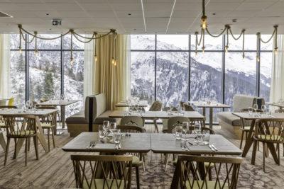 Club Med - La Rosière - Savoie - France - architecture d'intérieur - montagne - tables - luxe