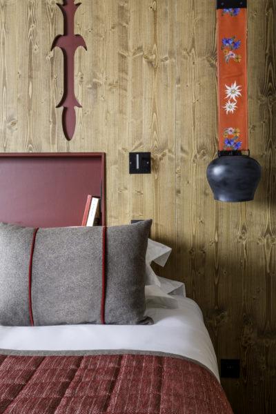 Club Med - La Rosière - Savoie - France - architecture d'intérieur - montagne - lit -chambre - luxe