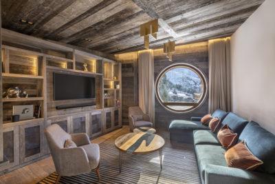 Chalet-Aspen - Avoriaz - montagne - architecture - intérieur- salon - luxe