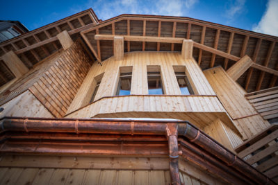Chalet Aspen - Avoriaz - architecture - montagne - ski -JMV Resort - bardage - bois