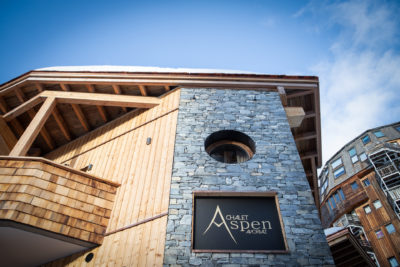 Chalet Aspen - Avoriaz - architecture - montagne - ski -JMV Resort - bardage - bois - pierre
