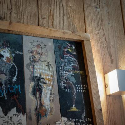 Résidence La Foret - Val d'Isère - Savoie - architecture - intérieur - tableau - art - luxe