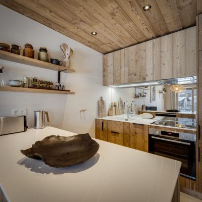 Résidence La Foret - Val d'Isère - Savoie - architecture - intérieur - salle à manger