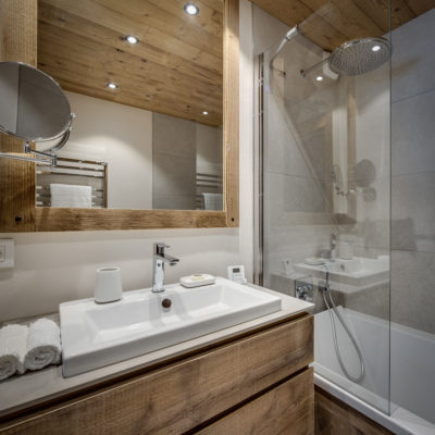 Résidence La Foret - Val d'Isère - Savoie - architecture - intérieur - salle de bain