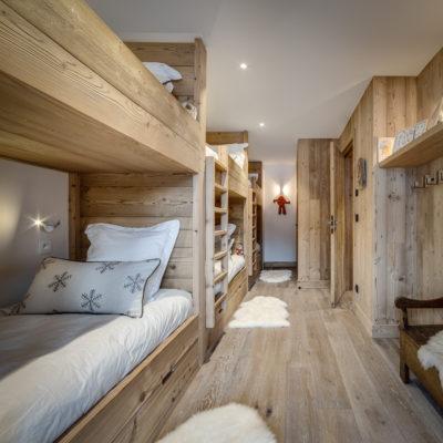 Résidence La Foret - Val d'Isère - Savoie - architecture - intérieur - chambre d'enfants - luxe
